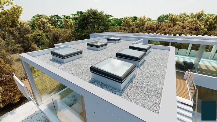 LAMILUX Glass Skylight FE 3°