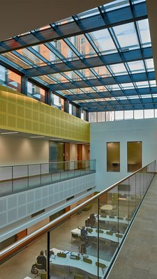 LAMILUX Glass Roof PR60 Passivhaus - University of Leicester England
